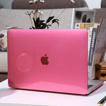 Crystal Transparent Laptop Case Cover For Apple MacBook New Air Pro Retina 11 12 13 15 inch for Mac Book with Touch Bar matte