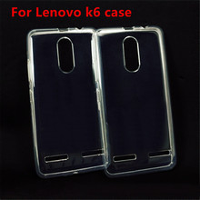 Buy 2017 new Lenovo vibe k6 K6 Transparent TPU Soft Silicon Case Cover Lenovo vibe k6 Phone Case Silicone Ultra thin Cover for $1.45 in AliExpress store