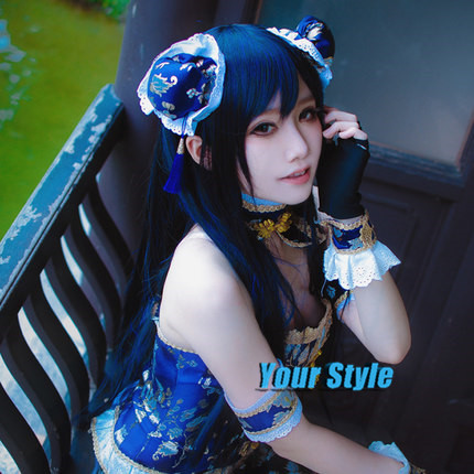 Love Live Umi Sonoda Wig  Long Staight Wigs 80 cm Natural Cheap Hair Wig  Perruque Synthetic Women  Peruca Cosplay<br><br>Aliexpress