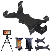 "High Quality Universal Tablet Stand Tripod Mount Holder Bracket 1/4""Thread Adapter For 7""~10.1""Pad For iPad 2/3/4/Air/Air2"