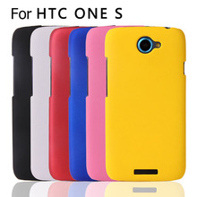 New Multi Colors Snap On Rubberized Hard Case Back Cover For HTC One S Z520e Free Shipping