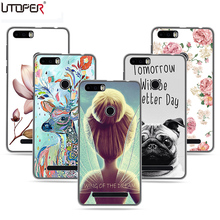 UTOPER Brand Painting Case For Leagoo kiicaa Power Case Silicone DIY Name Cover Cartoon Flower Hard Case For Leagoo kiicaa Capa(China)