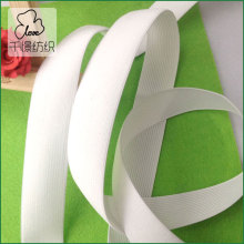 10meters White Knitted Elastic Stretch 3cm(1 1/8'') Ribbon Band(China)