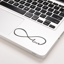 "1PC Love Infinity Vinyl Decal Stickers Skin Cover For MacBook Air/ 11"" 12"" 13""15"" 17"" Inch Gifts For Xmas"