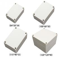 Hot New Design 84/100/115/120 mm Waterproof White Plastic Electrical Wire Enclosure Case Shell Project Case Junction Box