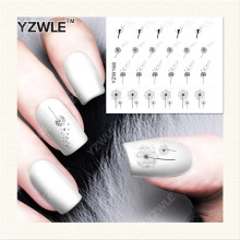 YZWLE  1 Sheet DIY Designer Water Transfer Nails Art Sticker / Nail Water Decals / Nail Stickers Accessories (YZW-168)