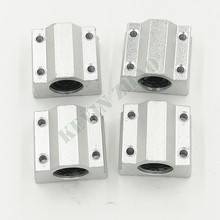 4 pcs SC12UU SCS12UU Linear motion ball bearings slide block bushing for 12mm linear shaft guide rail CNC parts