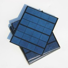 Wholesale! 3.5W 6V Polycrystalline Solar Cell Small Solar Panel for Battery Charger/DIY Solar Charger 10pcs/lot Free shipping