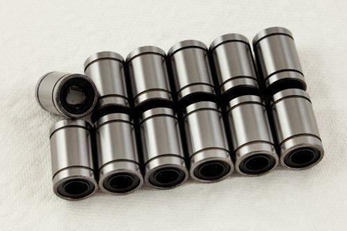 - 12 LM8UU Linear Bearings for 3D Printer. Prusa Mendel, reprap<br><br>Aliexpress