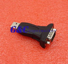 RS232 RS-232 Serial to USB 2.0 PL2303 DB9 Plug Adapter for WinXP/NT/win7 8 10