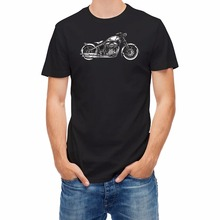 100% Cotton Men's Summer Sale 100% Cotton T-Shirt T-Shirt Motorcycle Contest Custom T-Shirt
