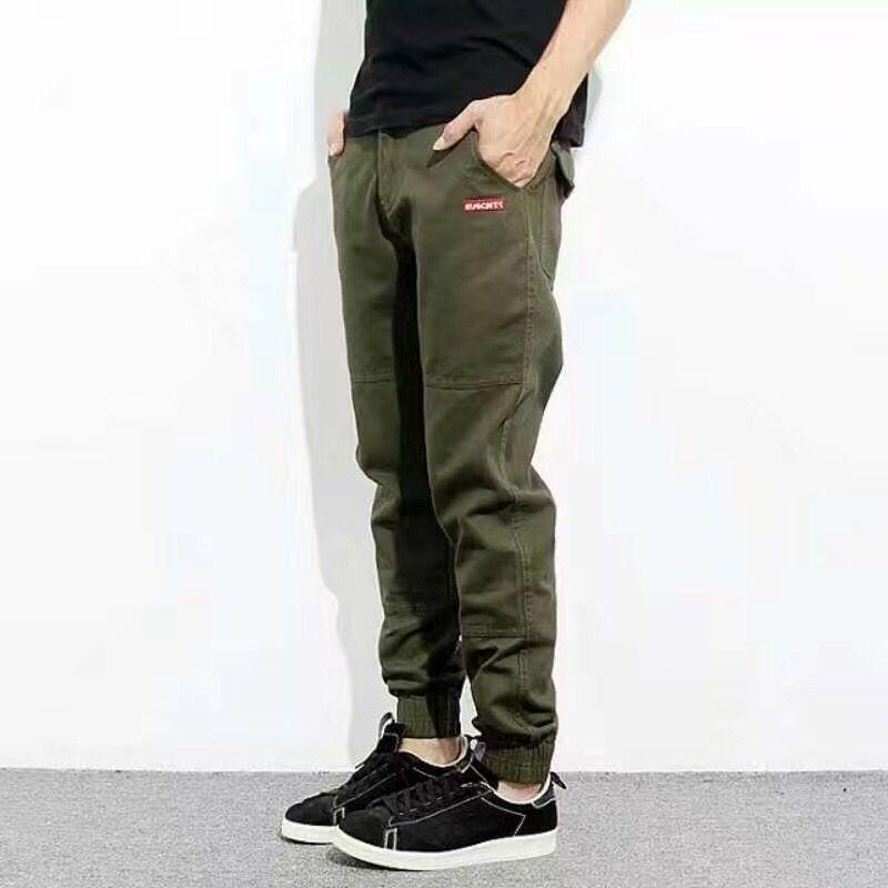 Summer Style Fashion Youth Men Jeans High Quality Ankle Banded Pants Brand Clothing Plus Size 29-40 Jogger Jeans Pants MenÎäåæäà è àêñåññóàðû<br><br>