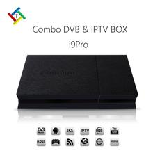 iPremium i9PRO Hybrid DVB Set Top Box support Europe Arabic IPTV Channels Adult Channels FREE 12 months IPTV subscription