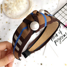 Korea Woolen Hand Made Retro Hair Accessories Hair Bows Crystal Crown Hair  Band Headbands For Girls c964a1f83ad3