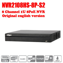 Buy Dahua 8 Channel POE NVR Compact 1U Network Video Recorder NVR2108HS-8P-S2 Full HD 6MP Recording Support PTZ IP Camera logo for $155.00 in AliExpress store