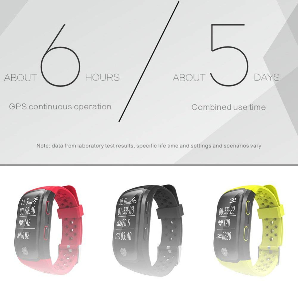 Smartwatch GPS IP68 Waterproof Wristband (8)