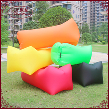 Fast folding sleeping laybag Inflatable Sofa lay bag Hangout sleep Air Bed Lounger laybag Outdoor air hammock travel air chair