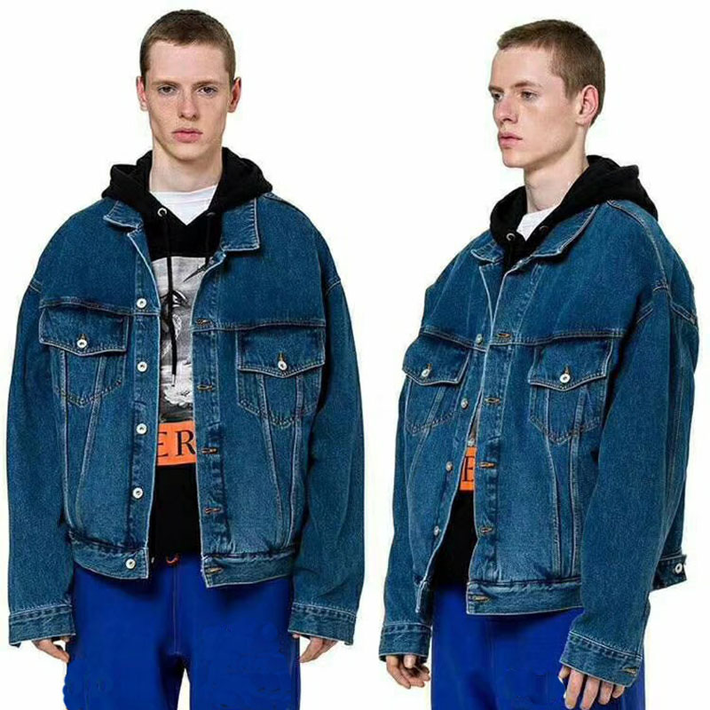 Heron Preston Leisure Denim  Jacket High Quality  Heron Preston Denim Jacket Streetwear Heron Preston Jean Coat