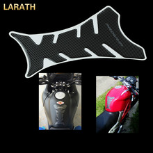 LARATH Carbon Fiber Motorcycle Fuel Tank Stickers Fish Bone Pattern Protector Universal Car-Stying - KEYLINE Store store