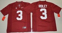NIKE Alabama Crimson Tide Calvin Ridley 3 College Ice Hockey Jerseys Limited Jersey - Crimson Size S,M,L,XL,2XL,3XL(China)
