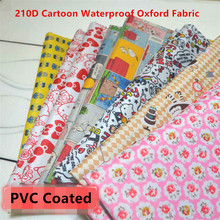 Buy Half meter 210D Cartoon PVC Coated Waterproof Oxford Fabric Upholstery Handmade Patchwork PVC DIY Tablecloth Oilcloth Fabric for $8.99 in AliExpress store