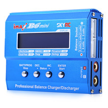 Original SKYRC iMAX B6 Genuine Mini Balance Charger For RC Helicopter NiMH / NiCd Rechargeable Battery Support PC Control(China)