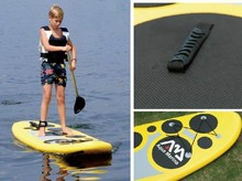 latest design inflatable surf pad 266cm long light weighted yet strong to stand when inflated