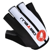 Pro Team GEL Pad Half Finger Cycling Ciclismo Gloves/Mountain Bike Sports Gloves/Breathable Racing MTB Bicycle Cycle Glove