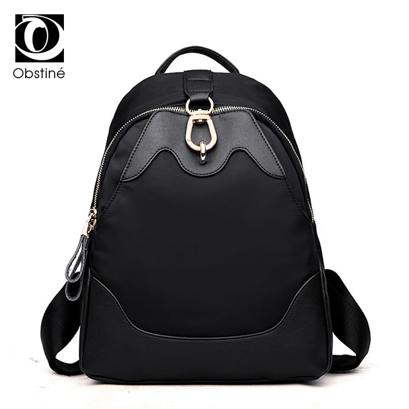 Backpack Women Nylon Fashion Travel Backpacks School Bags for Teenage Girls Mochila Female Functional Leisure Shoulder Bag<br>