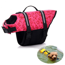 New Pet Dog Life Jacket Cat Surfing Safety Vest Preserver Swimming Boating XS Small Medium Extra Large Reflective Carrier Bag