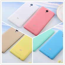 Redmi Note 2 Matte Back Plastic Protector Cover for Xiaomi Redmi Note 2 Case Battery Housing Back Cover for Redmi Note2