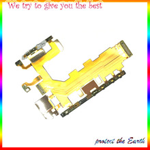Replacement Original for Sony Xperia Z2 3G D6503 Version Mobile Phone Motherboard Power & Volume & Mic Ribbon Flex Cable