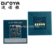 1set 006R01525 006R01528 006R01527 006R01526 Toner Cartridge chip For Xerox Color 550 560 570 copier powder refill reset chips(China)