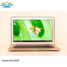 Partaker G3 Intel Dual Core I7 5600U Windows Laptops computer with 13.3 Inch