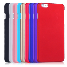 For iphone 7 7 Plus Matte Rubber Rubberized Cover For iPhone 6 6s Plus Case Ultra Thin Hard Plastic Protective Mobile Phone Bag(China)