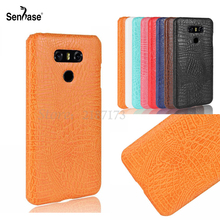 Buy LG G6 Case 5.7 inch Crocodile pattern PU Leather hard Plastic Back Cover LG G6 H870 H871 H872 H873 H870K US997 Case for $2.56 in AliExpress store