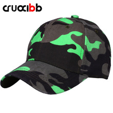 CRUOXIBB Brand Camouflage Baseball Caps Army Cap Multicolor Casual Outdoor Hat Tactical Bone Casquette Gorras Snapback 2017(China)