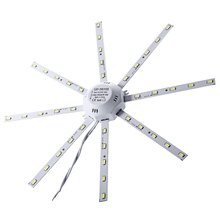 5 pieces 20W 1500Lm 40LEDs 5730SMD LED Ceiling Lamp Octopus Round Light