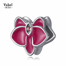 Yabel Crystal Orchid Flower Beads For Jewelry Accessories Handmade Crafts Diy Bracelets Statement Necklace For Wonder Women