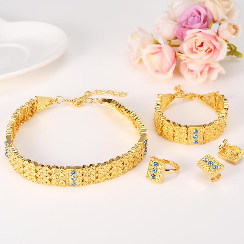 Bangrui-Gold-Color-Ethiopian-Jewelry-sets-Chokers-Necklace-Earrings-Ring-Bracelet-Eritrea-Habesha-Africa-Wedding-set (1)