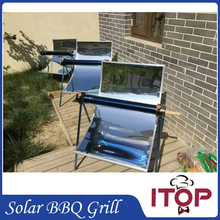 2016 New Solar Oven BBQ Grill Green Portable Barbecue Stove Environmentally friendly Outdoor Tool Roast Kebab Making