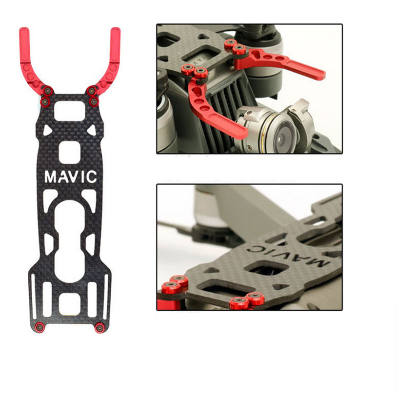 Light Landing Protector Plate Carbon Fiber For DJI MAVIC PRO Professional Futural Digital JUN16