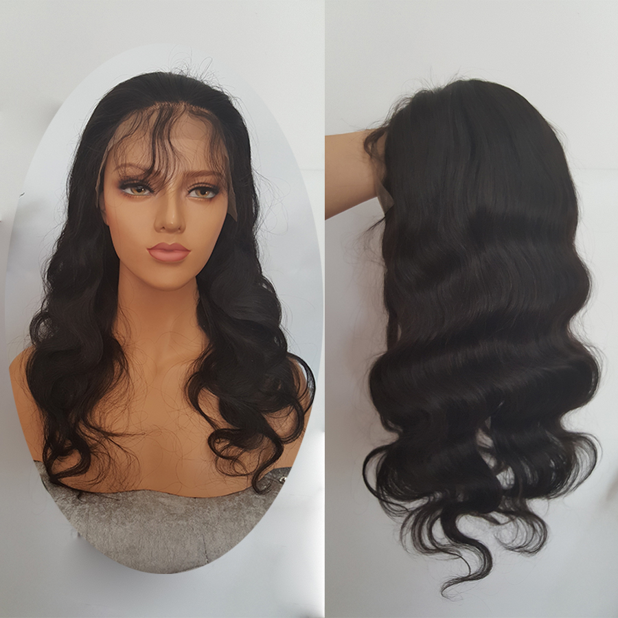 SHUMEIDA 130% Peruvian Lace Front Human Hair Wigs For Black Women Body Wave Lace Front Wig Remy Hair Average Cap Women Wigs (3)