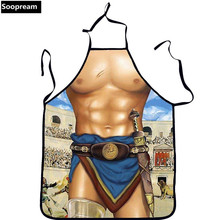 3D print Sexy Funny Cooking Kitchen Apron Man Woman Sexy Dinner Party Apron Gift Durable  Wear Apron Butcher BBQ Party Dress