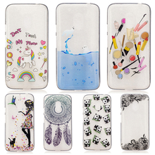 For Back Phone Cover Motorola Moto G4 Play XT1600 XT1601 XT1603 XT1607 XT1609 5.0'' Mobile Phone Case Moto G4 TPU IMD Phone Bags