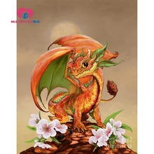 Dragon Diamond embroidery patterns Paintings rhinestones diamonds handicrafts 5d diy diamond painting Hobby crafts Mosaic gift(China)