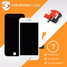 For iPhone 7 LCD With 3D Force Touch Screen Assembly 100% Finger Print Tested Replacement Display No Dead Pixel Free Shipping(China)