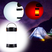 2017 Newest LED Camping Lights 400LM Multifunctional Waterproof Tent Lamp With Compass Outdoor Lighting Rechargeable Lantern