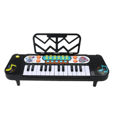 Smart Music 25 Keys Electric Piano Toy Kids Music Instrument Simulation Child Musical Instruments Child Electric Toy ABS Plastic