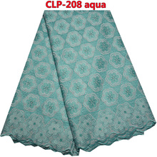 African Swiss Voile Lace High Quality Wedding 2016 African Cotton Swiss Voile Lace   CLP -208